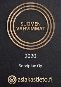 Menestyjät 2020 sertifikaatti